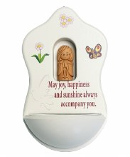Angel Happiness Holy Water Font