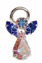 Message Angels with Swarovski Crystal Brooch