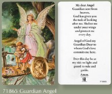 Guardian Angel  Prayer Leaflet