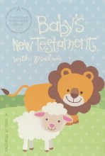 CSB Baby's New Testament w Psalms White Leather