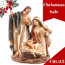 89697 Holy Family Nativity 20cm