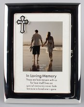In Loving Memory Silver Photoframe