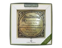 A Home Blessing Bronze Plaque