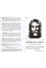 Holy Face of Jesus prayercard, 100 pack