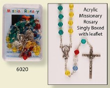 Missionary Colour Rosary Beads