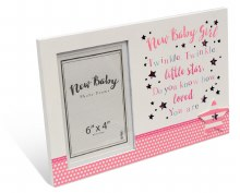 Baby Girl Message Photo Frame