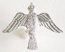 Confirmation Silver Dove on Tie Tack