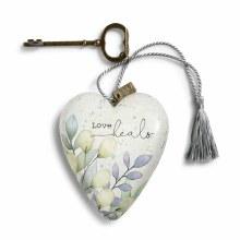 Love Heals Art Heart (10cm)