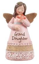 39353 Granddaughter Message Angel 10cm