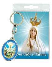Our Lady of Fatima Keyring