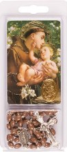 St Anthony Rosary and Leaflet