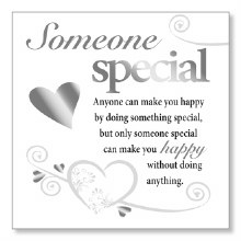 Someone Special Block Art Plaque