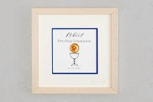 Personalised Blue  A  Special Day  Communion Frame
