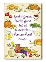 God is Great Wood Plaque