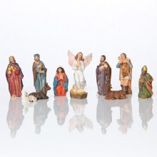 11 piece Nativity Set 6.5cm