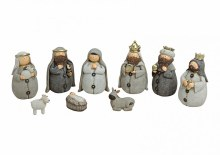 9 Piece Childrens Nativity (15cm)