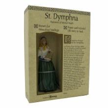 St Dymphna statue (15cm)