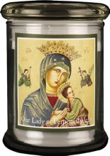 Our Lady of Perpetual Help Battery Candle