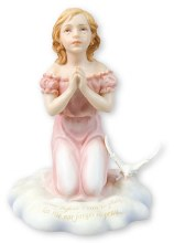 Praying Girl Veronese Statue (13cm)