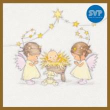 SVP Angel's Nativity Box of 12 Charity Cards