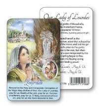 Prayer Leaflet Lourdes