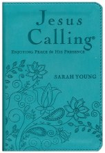 Jesus Calling, Blue, Ultrasoft Imitation Leather