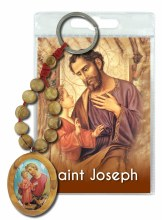 St Joseph Olive Wood Single Decade