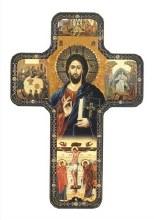 Teaching Christ Icon Cross (17cm)