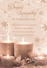 With Deepest Sympathy at Christmas Time