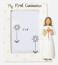 Girl First Holy Communion Photo Frame