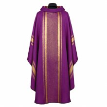 Purple and Gold Chasuble
