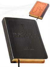 New Catholic Answer Bible, Black leather, gilt