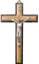 Olive Wood Crucifix (20cm)