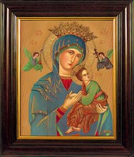 Our Lady of Perpetual Help Framed Print (35 x 20cm)