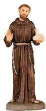 St Francis Statue (10cm)
