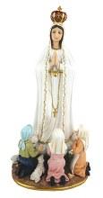 48553 Our Lady of Fatima Fibreglass statue 60cm