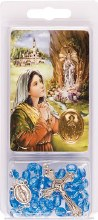 Lourdes Rosary and Leaflet