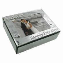 Mr and Mrs Mirror Wedding Keepsake Box