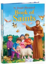 Illustrated Book of Saints, padded hardcover