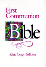 First Communion Bible, Flexible cover, Gift boxed