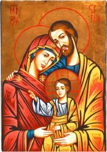 Holy Family Church Icon (32 x 22cm)