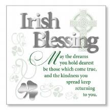 Irish Blessing Block Art Plaque