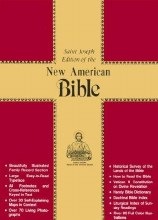 OP - NAB Deluxe Gift Bible, Black Leather, gilt