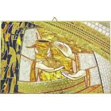 Bread and Wine Mosiac Icon