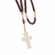 Dark Brown Rosary Beads