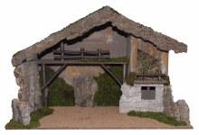 Large Nativity Shelter (96 x 47x 61cm)