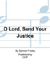 O Lord Send Your Justice Sheet music