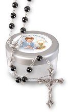 Hemitate First Holy Communion Rosary Beads