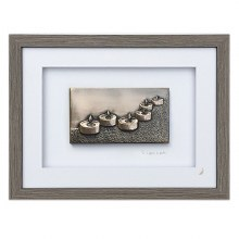 To Light A Path (Grey Frame) - Wild Goose Art