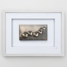 To Light A Path (Grey Frame) - Wild Goose Art (Lime)